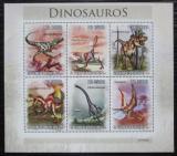 Poštovní známky Svatý Tomáš 2010 Dinosauři Mi# 4543-48 Kat 13€