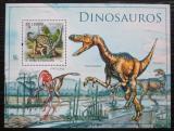 Poštovní známka Svatý Tomáš 2010 Dinosauři Mi# Block 780 Kat 11€
