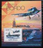 Poštovní známka Guinea-Bissau 2012 Letadlové lodě Mi# Block 1042 Kat 13€
