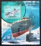 Poštovní známka Guinea-Bissau 2012 Ponorky Mi# Block 1057 Kat 12€