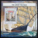 Poštovní známka Sierra Leone 2016 Historické plachetnice Mi# Block 1078 Kat 11€
