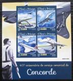 Poštovní známky Svatý Tomáš 2016 Concorde Mi# 6591-94 Kat 12€