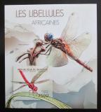 Poštovní známka Burundi 2012 Vážky neperf. Mi# Block 279 B