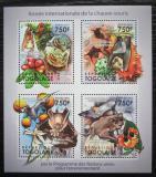 Poštovní známky Togo 2011 Netopýři Mi# 4059-62 Kat 12€