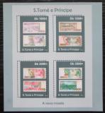 Poštovní známky Svatý Tomáš 2010 Bankovky Mi# 4779-82