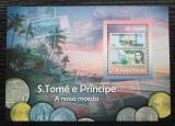 Poštovní známka Svatý Tomáš 2010 Bankovky Mi# Block 813 Kat 10€
