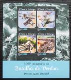 Poštovní známky Svatý Tomáš 2016 Bitva u Verdunu, 100. výročí Mi# 6536-39 Kat 12€