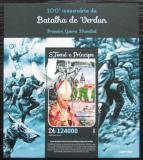 Poštovní známka Svatý Tomáš 2016 Bitva u Verdunu Mi# Block 1157 Kat 12€