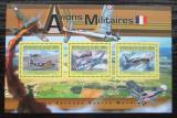 Poštovní známky Guinea 2011 Francouzská válečná letadla Mi# 9045-47 Kat 16€