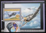 Poštovní známka Guinea 2012 Německá letadla Mi# Block 2177 Kat 16€