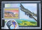 Poštovní známka Guinea 2012 Americká letadla Mi# Block 2179 Kat 16€