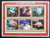 Poštovní známky Mosambik 2002 Ryby Mi# 2638-43 Kat 12€