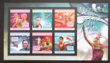 Poštovní známky Guinea 2012 Sport Mi# 9627-32 Kat 18€