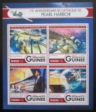 Poštovní známky Guinea 2016 Útok na Pearl Harbor, 75. výročí Mi# 12006-09 Kat 16€