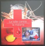Poštovní známka Niger 2014 Boj proti malárii Mi# Block 394 Kat 10€