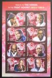 Poštovní známky Sierra Leone 2016 Boj proti ebole Mi# Q6812-6812 Kat 18.50€