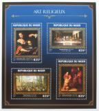Poštovní známky Niger 2016 Umění, biblické motivy Mi# 4382-85 Kat 13€