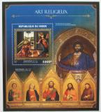 Poštovní známka Niger 2016 Umění, biblické motivy Mi# Block 581 Kat 13€