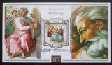 Poštovní známka Niger 2015 Umění, Michelangelo Mi# Block 407 Kat 10€