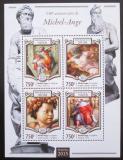 Poštovní známky Niger 2015 Umění, Michelangelo Mi# 3315-18 Kat 12€