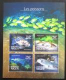 Poštovní známky Niger 2014 Ryby Mi# 3179-82 Kat 12€