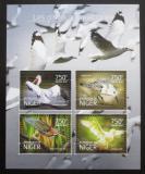 Poštovní známky Niger 2014 Vodní ptáci Mi# 3189-92 Kat 12€