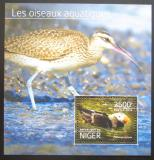 Poštovní známka Niger 2014 Vodní ptáci Mi# Block 382 Kat 10€
