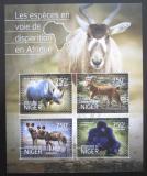 Poštovní známky Niger 2014 Ohrožená fauna Mi# 3209-12 Kat 12€
