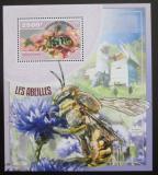 Poštovní známka Niger 2014 Včely Mi# Block 352 Kat 10€