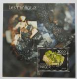 Poštovní známka Niger 2014 Minerály Mi# Block 397 Kat 12€
