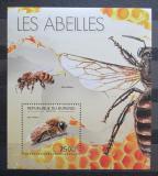 Poštovní známka Burundi 2012 Včely Mi# Block 278 Kat 9€