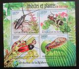 Poštovní známky Burundi 2012 Brouci Mi# 2535-38 Kat 10€