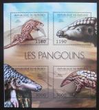 Poštovní známky Burundi 2012 Luskouni Mi# 2818-21 Kat 10€