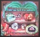 Poštovní známky Burundi 2012 Minerály Mi# 2630-33 Kat 10€