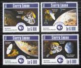 Poštovní známky Sierra Leone 2015 Mise k planetě Pluto Mi# 6279-82 Kat 11€