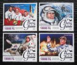 Poštovní známky Guinea 2016 Kosmonauti Mi# 11716-19 Kat 16€