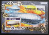 Poštovní známka Sierra Leone 2015 Vzducholodě Mi# Block 787 Kat 11€