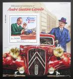 Poštovní známka Sierra Leone 2015 Automobily Citroen Mi# Block 888 Kat 11€