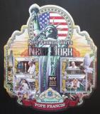 Poštovní známky Sierra Leone 2016 Papež František v New Yorku Mi# 6913-17