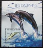 Poštovní známka Burundi 2012 Delfíni Mi# Block 293 Kat 9€
