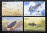 Poštovní známky SAR 2000 Dějiny letectví Mi# 2462-65 Kat 7.50€