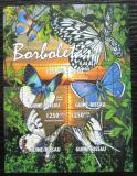 Poštovní známky Guinea-Bissau 2011 Motýli Mi# 5338-41 Kat 20€