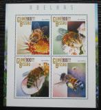 Poštovní známky Guinea-Bissau 2015 Včely Mi# 7566-69 Kat 14€