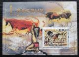 Poštovní známka Guinea-Bissau 2010 Skalní malby v Lascaux Mi# Block 826 Kat 13€