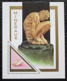 Poštovní známka Benin 1998 Minerály Mi# Block 39