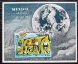 Poštovní známka Čad 1972 MS ve fotbale přetisk Mi# Block 48 Kat 9€