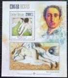 Poštovní známka Guinea-Bissau 2013 Umění, Edgar Degas Mi# Block 1205 Kat 12€