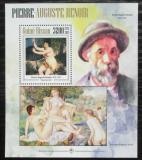 Poštovní známka Guinea-Bissau 2013 Umění, Renoir Mi# Block 1202 Kat 13€
