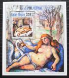 Poštovní známka Guinea-Bissau 2013 Umění, Paul Cézanne Mi# Block 1214 Kat 13€