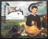 Poštovní známka Guinea-Bissau 2012 Umění, Édouard Manet Mi# Block 1018 Kat 12€